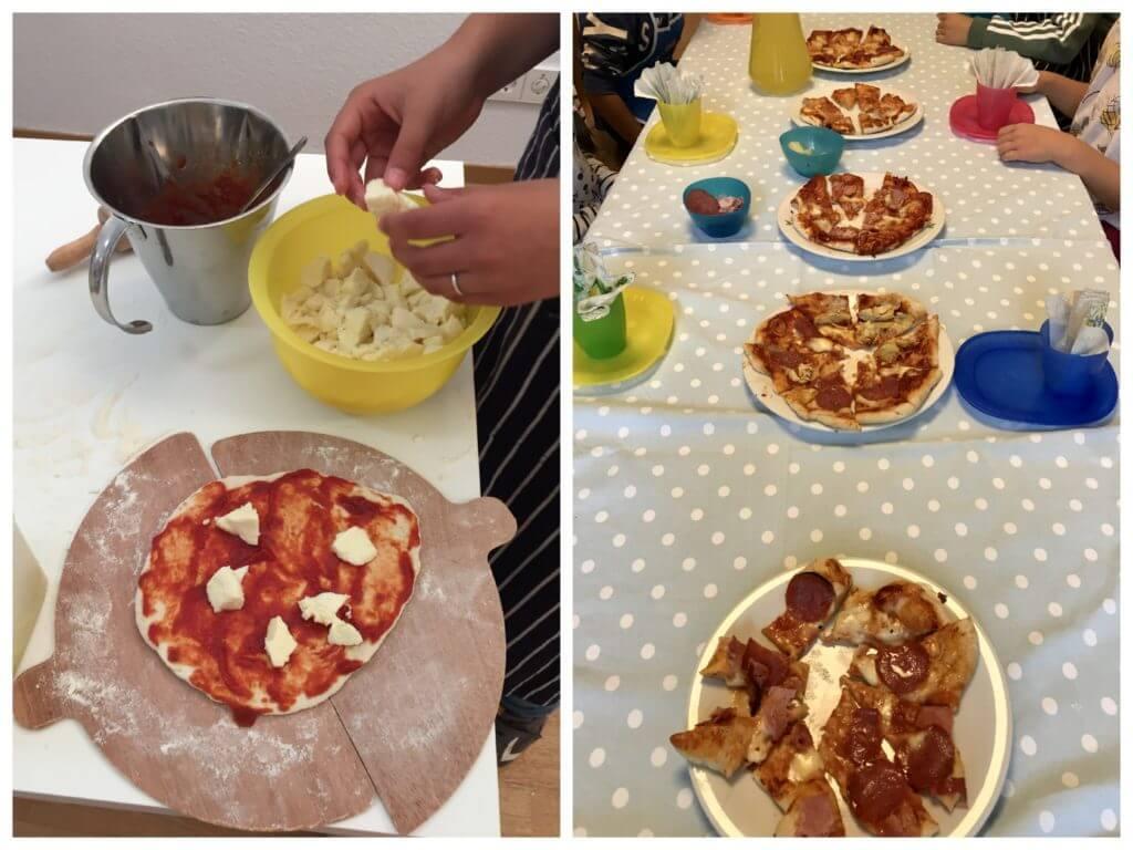 La Pizzeria - Pizzatag mit den Kindern